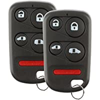 Discount Keyless Replacement Key Entry Car Remote Fob For Honda Odyssey E4EG8DN (2 Pack)