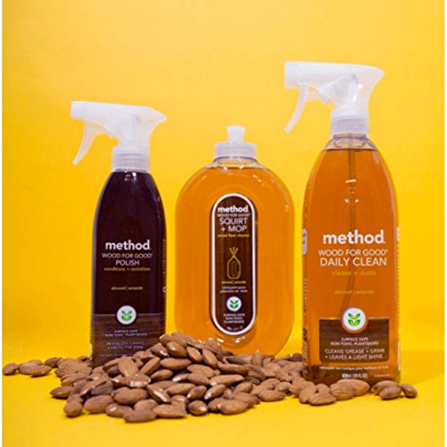 Method Squirt + Mop Hardwood Floor Cleaner, Almond, 25 Ounce (Pack 6) by Method (Image #4)