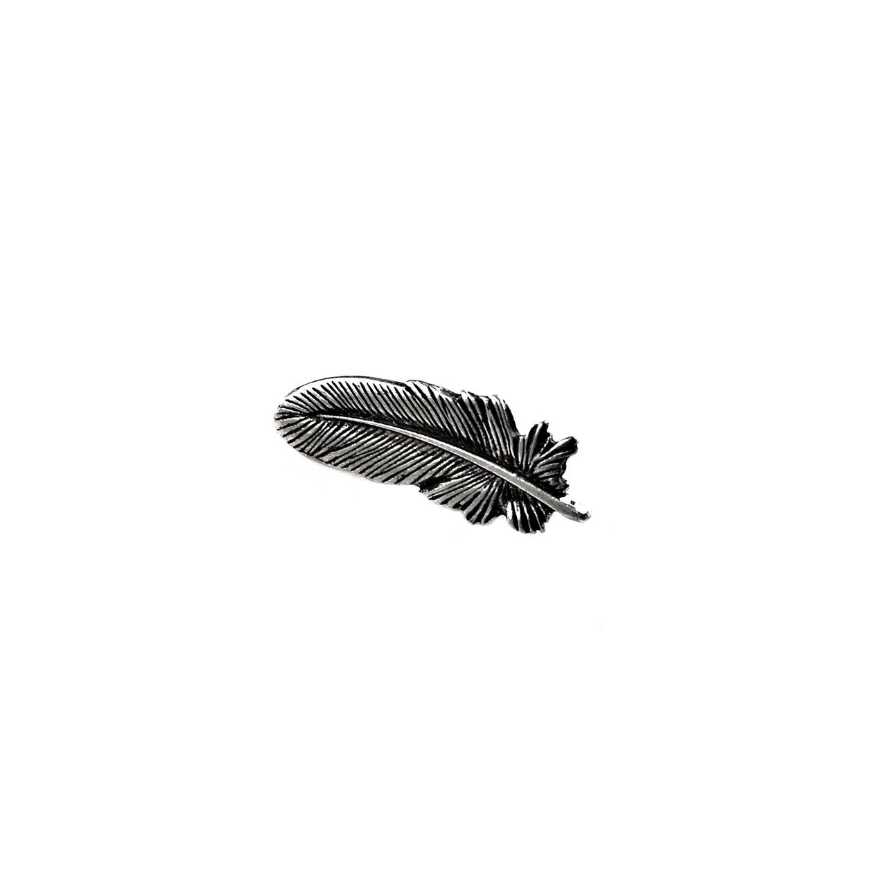Quality Handcrafts Guaranteed Feather Lapel Pin