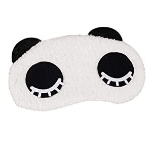 Cute Panda Sleeping Eye Mask Masque de sommeil Eye-ombre aide-sommeil,H