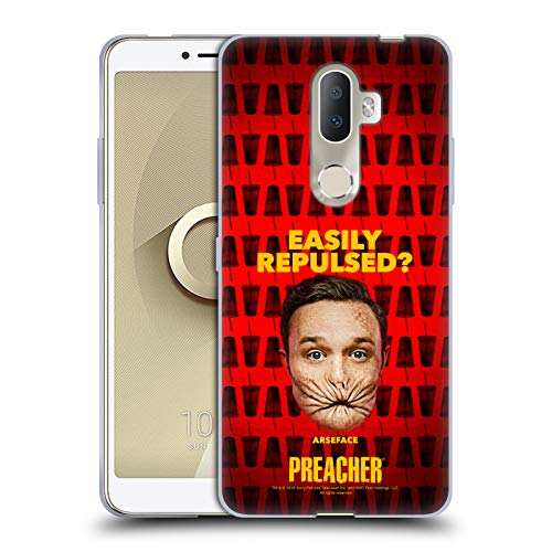 Official Preacher A Face Season 3 Character Art Soft Gel Case for Alcatel 3V (2018)