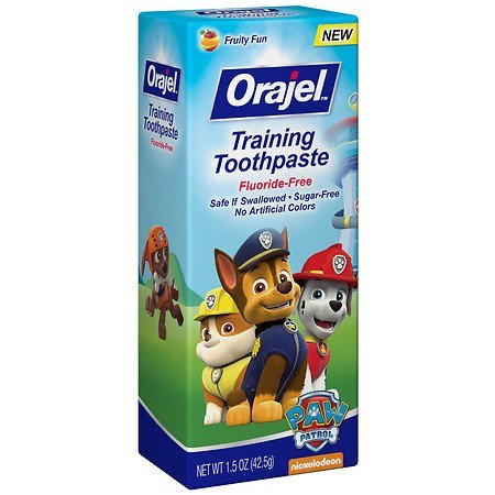 Orajel Toddler Thomas the Train Training Toothpaste, Toot...