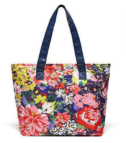 ban.do Women's Just Chill Out Insulated Cooler Bag Tote (Flower Shop) (Best Small Ice Chest Cooler)