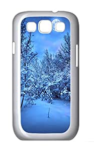 Samsung Galaxy S3 Case and Cover- 2014 New Year's Eve Custom PC Case for Samsung Galaxy S3 / SIII / I9300 White