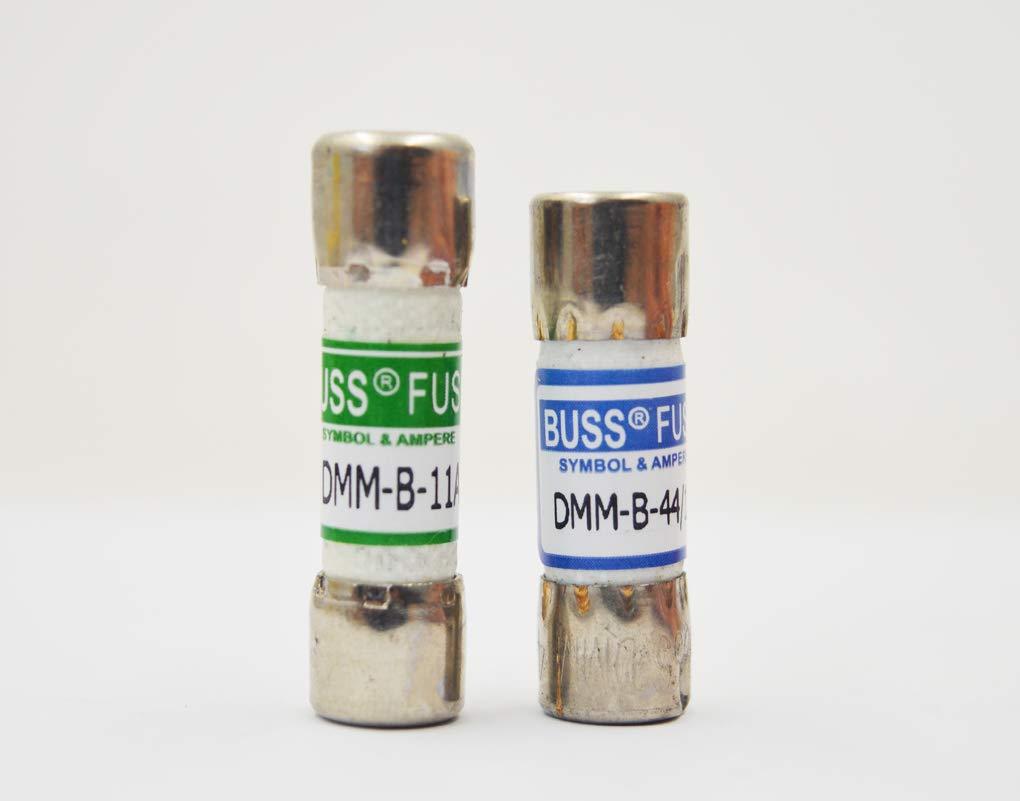 Bussmann 1 pezzo Fluke 803293 11 Amp 1000 V e 1 pezzo Fluke 943121 440mA 1000V Fluke Multimetro Digitale Ricambio Fusibile