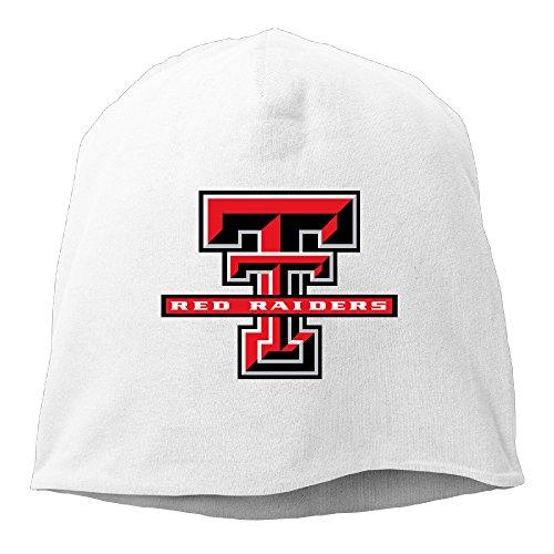 Penguin Rider Costumes (Caromn Texas Tech University Red Raiders Beanies Skull Ski Cap Hat White)