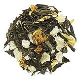 The Tea Farm - Mixed Pineapple Mango - Premium Tropical Hawaiian Loose Leaf Green Tea Blend (2 Ounce Bag)