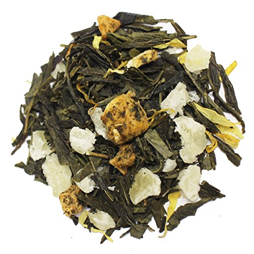 The Tea Farm - Mixed Pineapple Mango - Premium Tropical Hawaiian Loose Leaf Green Tea Blend (2 Ounce (Socks Near Me)