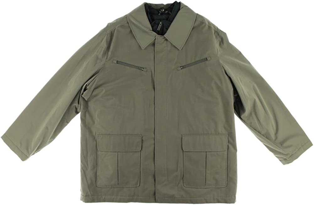 Nautica Big and Tall Men's System Jacket with Zip Out Vest