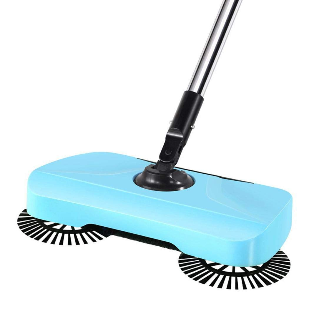 Legros8 Durable 360 Degree Rotation Manual Sweeping Machine Home Cleaning Tool Steam Mops