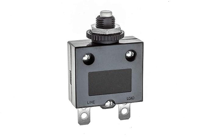 SEACHOICE 13131 Push Button Circuit Breaker 15A