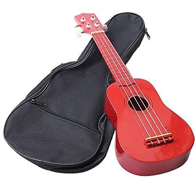 """KING DO WAY Ukulele Bag Soft Shoulder/Back Carry Gig Bag Ukulele Case Guitar Bag 22""""x9"""" from KING DO WAY"""