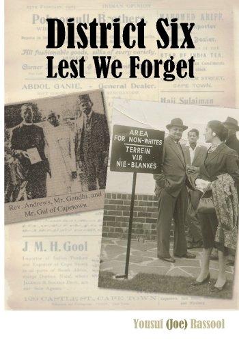 Download District Six: Lest We Forget pdf