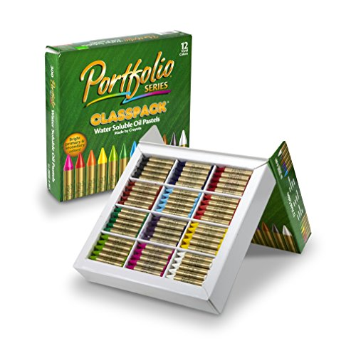 Crayola Oil Pastels Bulk, 300 Count Classpack, 12 Assorted Colors, Water ()