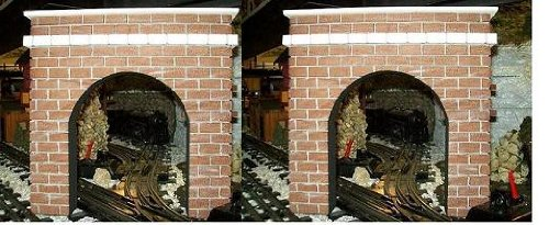 Model Railroad O Gauge Tunnel Portal - Set of 2