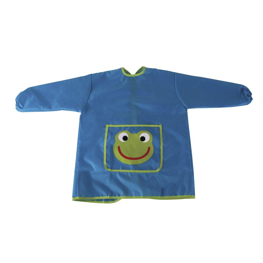 Rayher 69079000/Craft Tablier pour enfant 110 135/cm tissu bleu