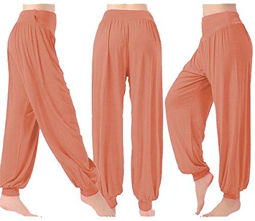 AHR - Pantalón - para mujer rosa pastel