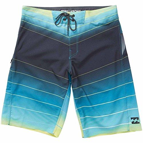 Billabong Men's Fluid X Boardshort, Lime, (Billabong Mens Boardshorts)