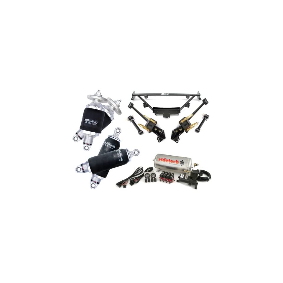 RideTech 1964, 1965, 1966 Ford Mustang Level 1 Air Suspension System Kit by Air Ride Technologies