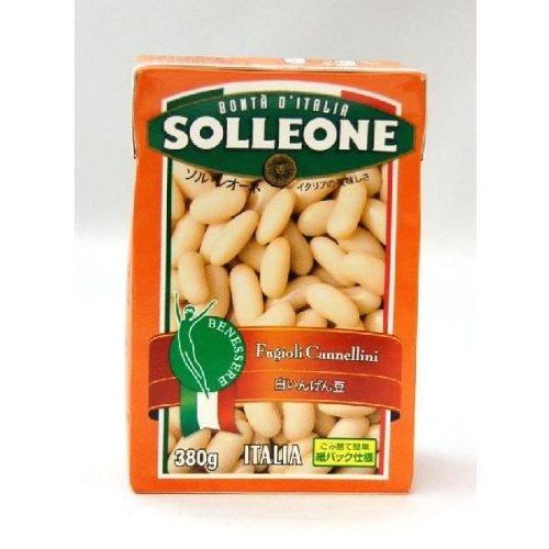 ソルレオーネのイタリア産白いんげん豆の水煮。この紙パック、簡単に手で開封できるのが便利です!お値段も近所のスーパーだと160円だったかな~。お豆そのものはあまり味がしないけど、食感がいいから、ツナサラダにはぴったり。