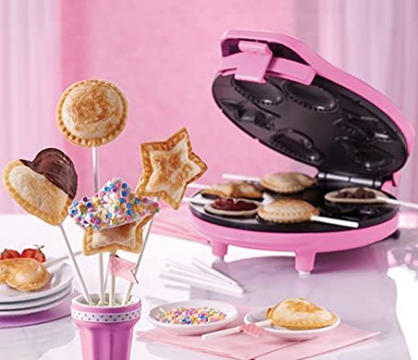Amazon.com: Bella Pastel Pop Maker – Rosa: Kitchen & Dining