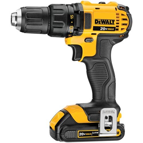 DEWALT 20V MAX Impact Driver and Drill Combo Kit (DCK280C2) - coolthings.us