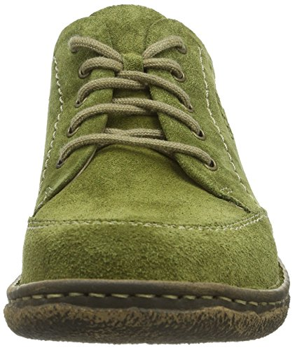 Josef Seibel Neele 02 Vrouwen Derby Lace Up Brogues Groen (991 Jade)