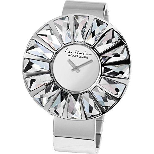 Jacques Lemans La Passion LP-120A Wristwatch for women With Swarovski crystals
