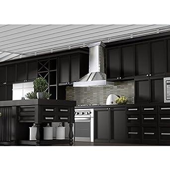 Z Line 655-4SSSS-30 30 900 CFM Designer Series Wall Mount Range Hood, Stainless Steel
