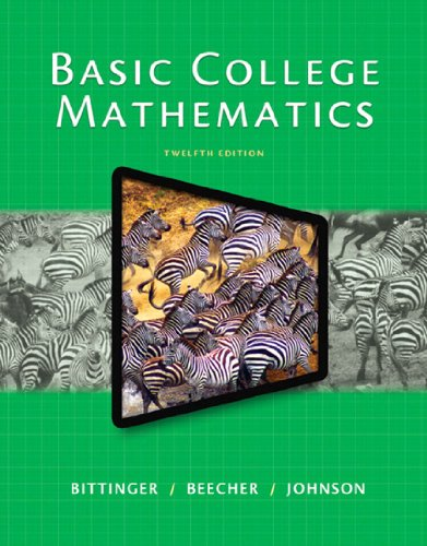 Download Basic College Mathematics, 12/e Pdf