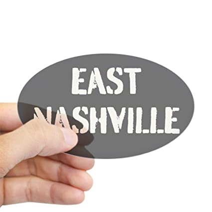 Amazon Com Cafepress East Nashville Sticker Oval Oval Bumper