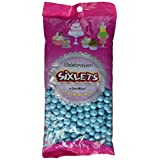Sweetworks Celebrations Candy Sixlets Shimmer Bag, 14 oz, Powder Blue
