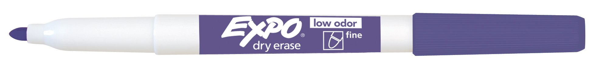 EXPO Low-Odor Dry Erase Markers, Fine Tip, Assorted Colors, 36 Count by Expo (Image #4)