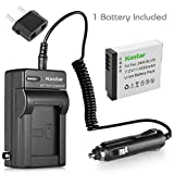 Kastar Battery (1-Pack) and Charger Kit for Panasonic DMW-BLH7 DMW-BLH7E DMW-BLH7PP work with Panasonic Lumix DMC-GM1 DMC-GM1K DMC-GM5 DMC-GF7 Cameras