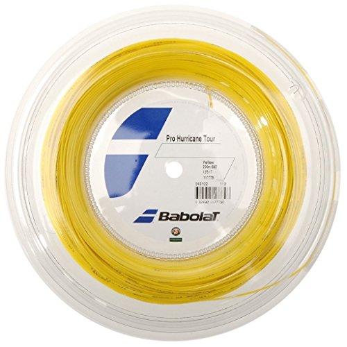 Babolat Pro Hurricane Tour (16g-1.30mm) Tennis String Reel (660′)