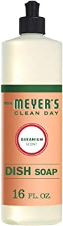 product image for Mrs. Meyer´s Clean Day Dish Soap, Geranium, 16 fl oz, 3 ct