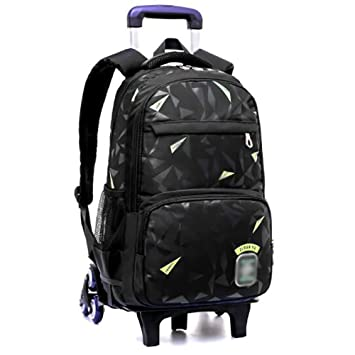 XHHWZB Rolling Backpack, Mochila para niños Mochila Escolar con Ruedas Mochila Escolar con Ruedas (Color : B): Amazon.es: Deportes y aire libre