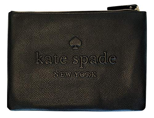 Ash Gia Clutch Kate York WLRU5024 New Black Black Street Spade Leather ARy7qt7Hc