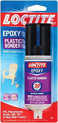 Loctite 1363118-8 Epoxy Plastic Bonder, 0.85 fl. oz. Syringes (Case of 8)