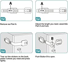 Cierres de seguridad para niños sin pillar los dedos, fácil ...