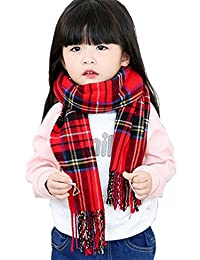Kids Soft Knitted Scarf Fashion Warm Scarves Muffler Winter Wrap Shawl