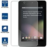 Beiuns Tempered Glass Screen Protector Ultra-Hard for Asus Google Nexus 7 (screen: 7 inch)