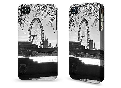 """Hülle / Case / Cover für iPhone 4 und 4s - """"Embankment"""" by Ronya Galka"""