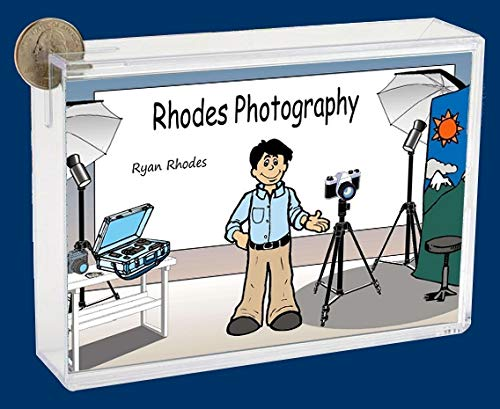 Personalized NTT Cartoon Side Slide Frame Gift: Photographer Male Gift, Scrapbooker, Photographer, Videographer