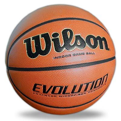 Wilson Evolution Game Basketball, Black, Official Size - 29.5