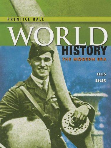 HIGH SCHOOL WORLD HISTORY 2014 PEARSON STUDENT EDITION MODERN GRADE 9/12