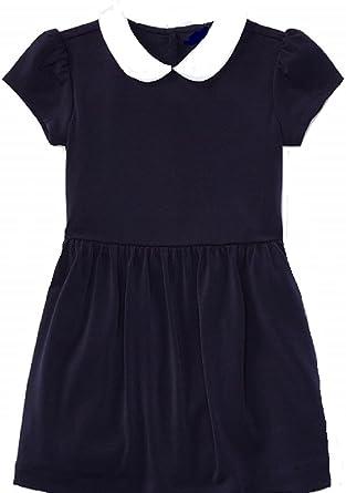 Baby Girls RALPH LAUREN Dress /& Knickers Set Navy 9 Months