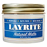 Layrite Natural Matte Cream Pomade 4.25 oz
