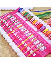 Household Cross Stitch Embroidery Floss Organizer Tool Dedicated Needles Pins Wire Holder Tools (Random Color)