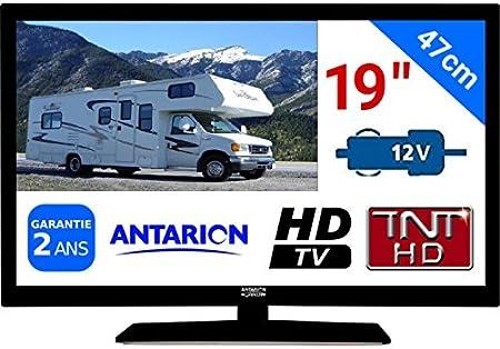 TV TNT HD LED 19 47 cm tnthd USB HDMI – para camión vehículo ...